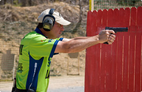 Todd Jarrett at the Range